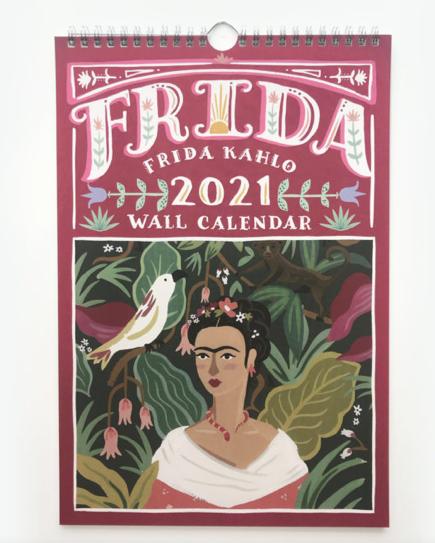 2021 Frida Kahlo Wall Calendar
