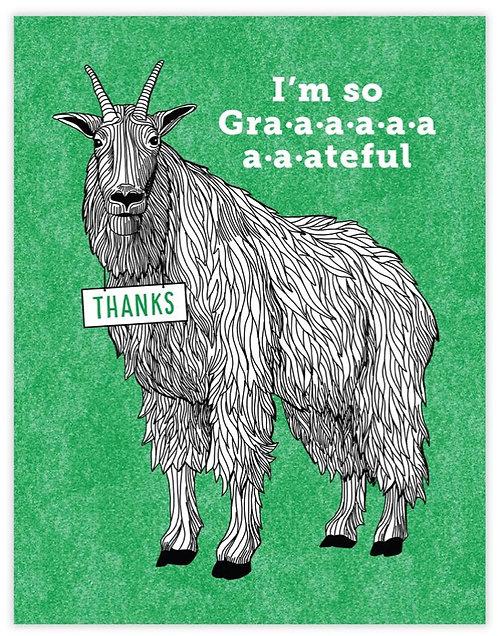Goat Thank You