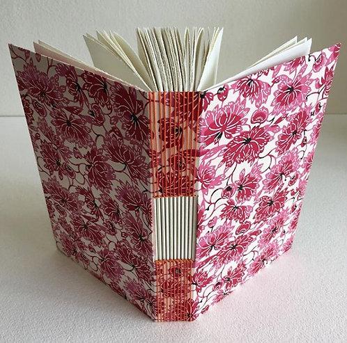 Buttonhole Stitch Pink Floral Book