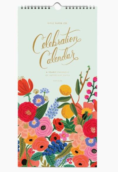 Rifle Paper Co. Celebration Calendar