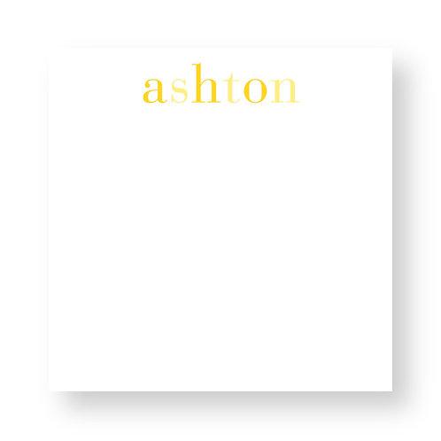 Shaded Yellows Notepad