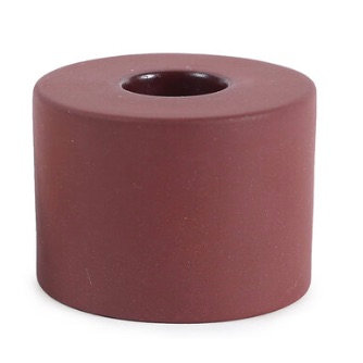 Petite Ceramic Taper Holder- Cylinder