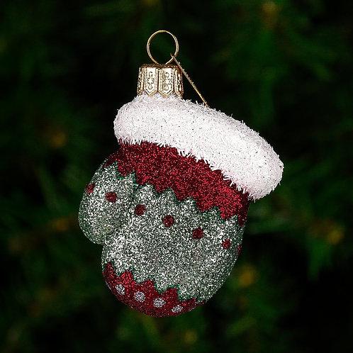 Mini Sweater Mitten Ornament