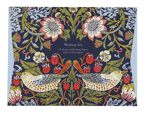 Strawberry Thief by William Morris Writing Set