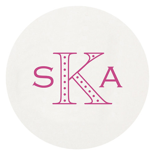 Stylish Initial Coaster