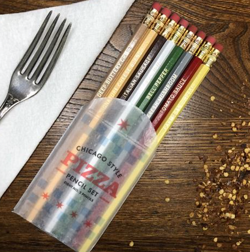 Chicago Pizza Pencils