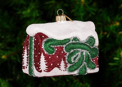 Winter Scene Mailbox Ornament