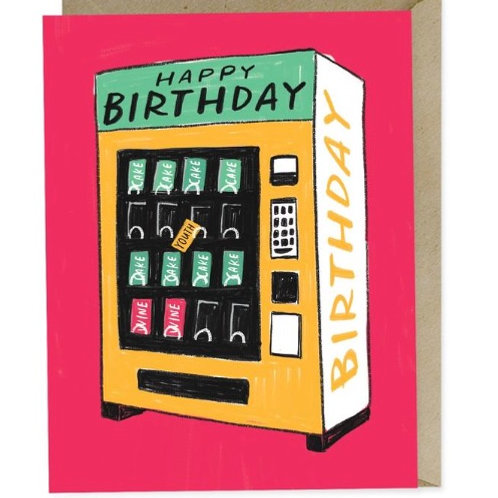 Vending Machine Birthday