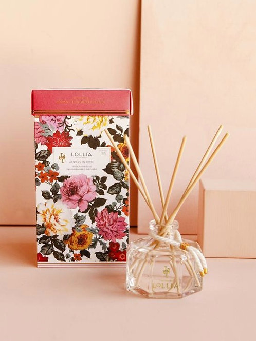 Always in Rose Floral Reed Diffuser