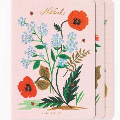 Botanical Stitched Notebook Set