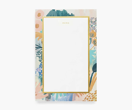 Rifle Paper Co. Luisa Large Memo Note Pad