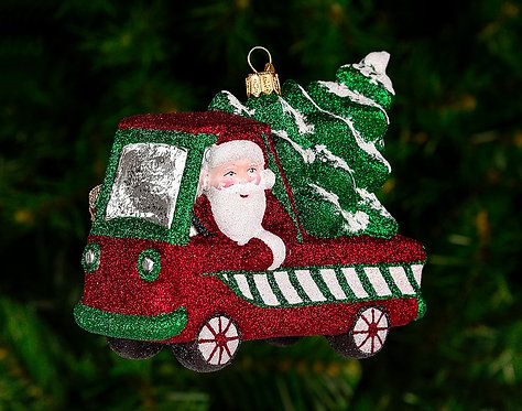 Rolling in the Season Ornament