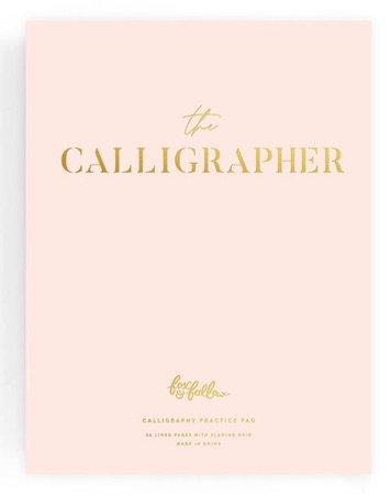 The Calligrapher Practice Pad