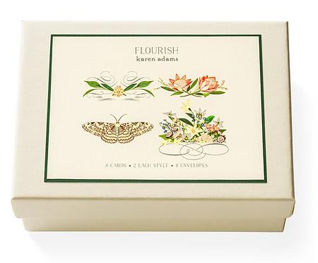 Flourish Gift Enclosure Card Box