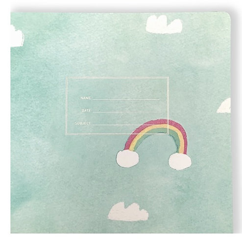 Rainbow Sky Notebook