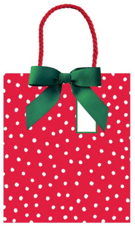 Painted Dots Large Gift Bag
