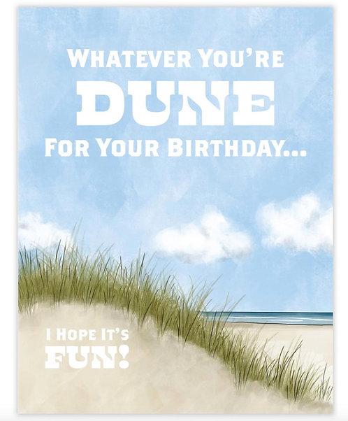 Dune Birthday