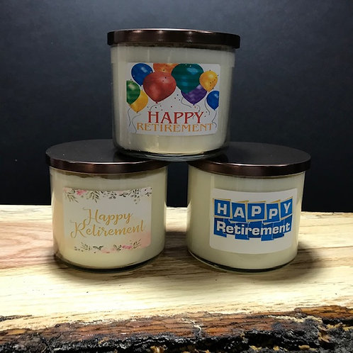 Happy Retirement Candles