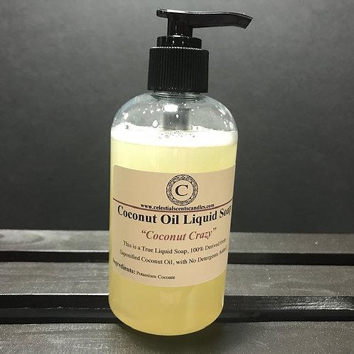 Coconut Oil Liquid Hand Soap - 8oz