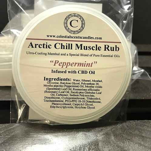 Arctic Chill Muscle Rub - 4oz