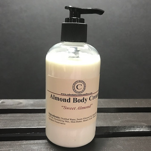 Almond Body Cream - 8oz