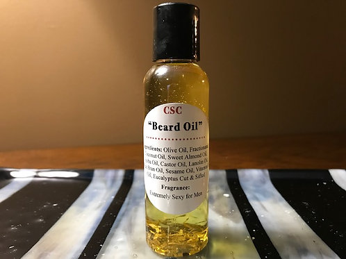 Beard Oil - 4oz