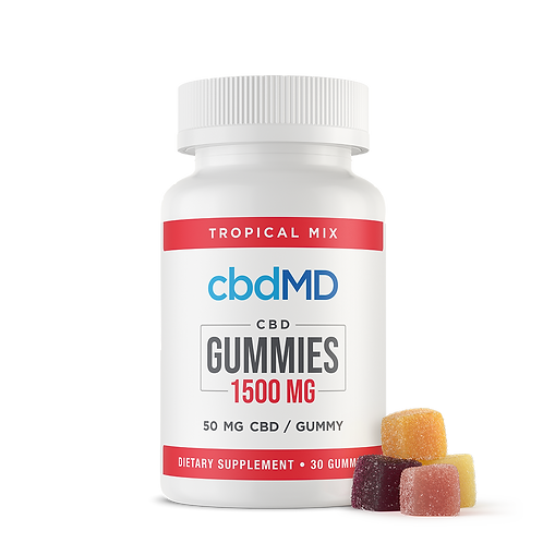CBD Gummies - 1500 MG 30 Count