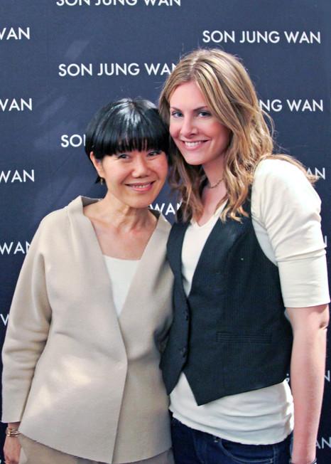 Fashion Designer Son Jung Wan #NYFW