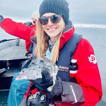 iceberg antarctica samantha sendor