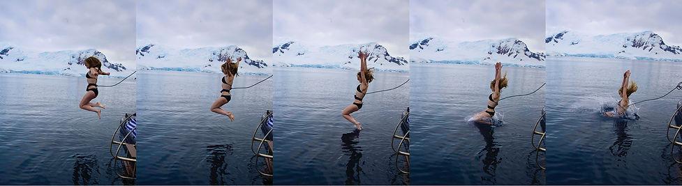 Polar Plunge Antarctica Samantha Sendor