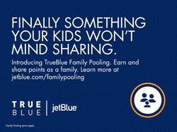 JetBlue TrueBlue Family Pooling