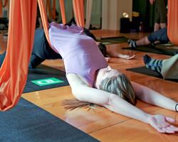 Anti-Gravity Yoga with TD Bank