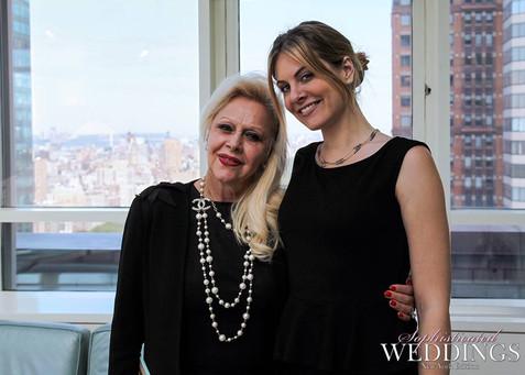 Bridal Designer Ines Di Santo #NYBFW