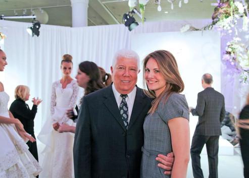 Designer Dennis Basso at Kleinfeld #NYBFW