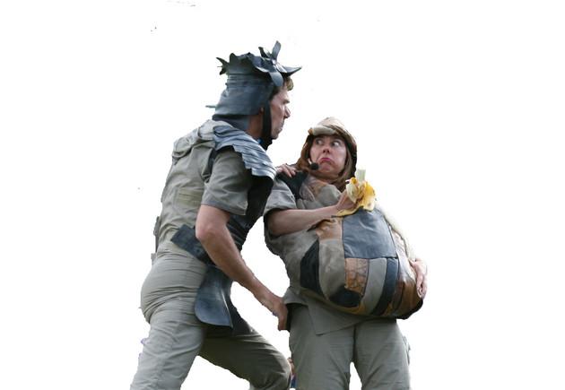 Don Quichot en Pancho