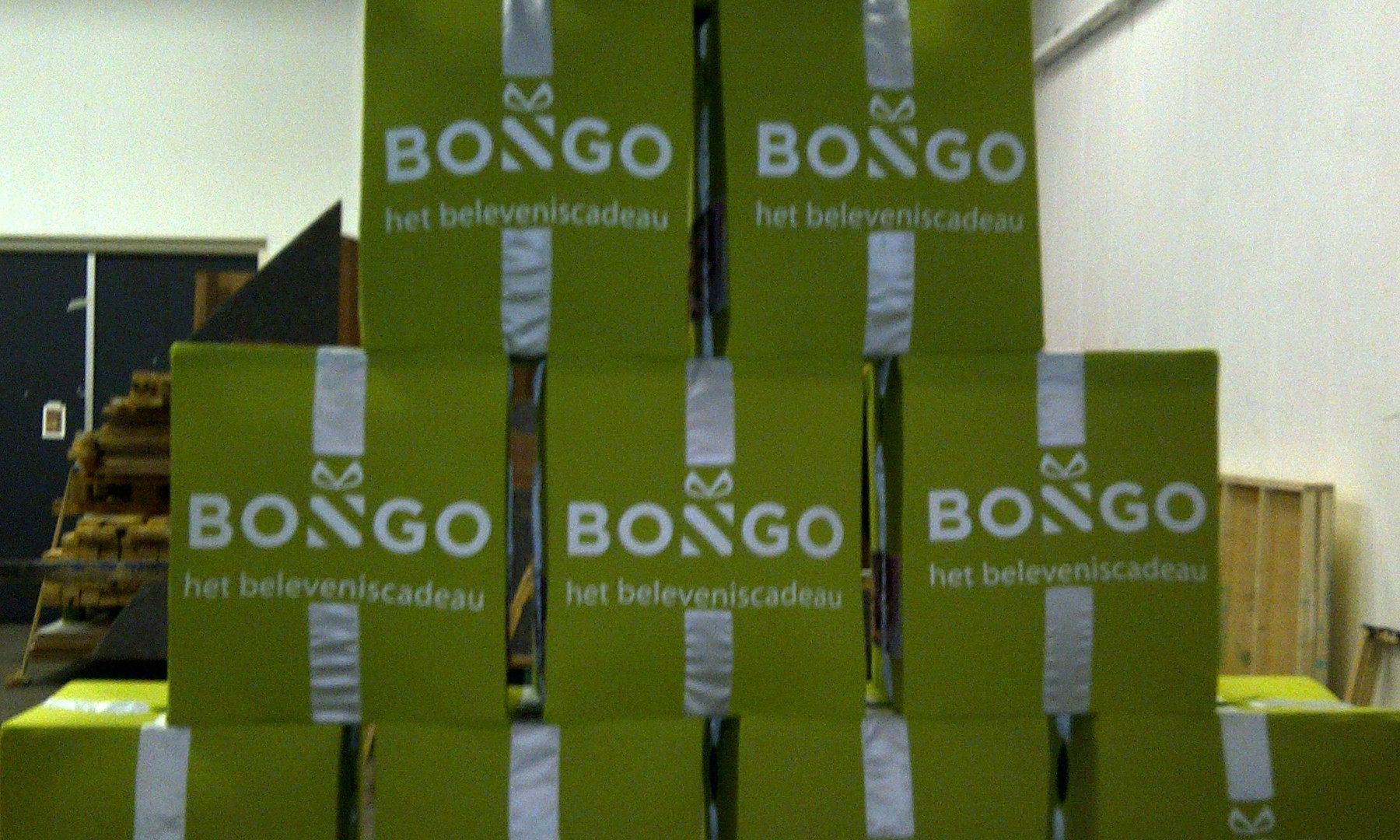 Bongo cadeau x 10
