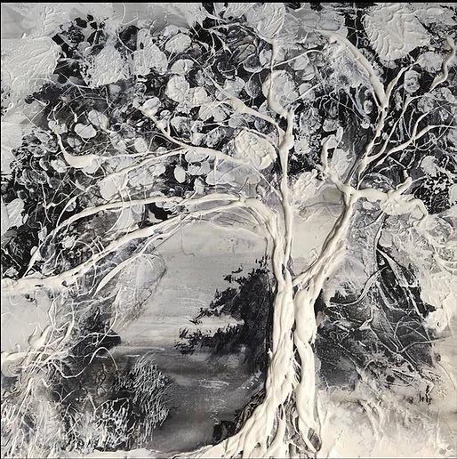 arbre dans l'art, Tree in art, paintings, nature, peinture, arbres,nature artshow