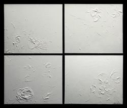 Vibrations of white N° VI/2 - 2016