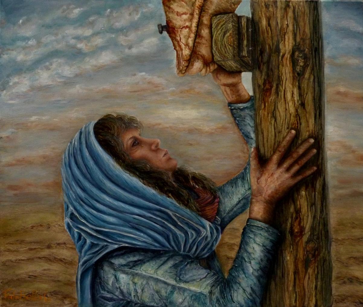 Al pie de la cruz