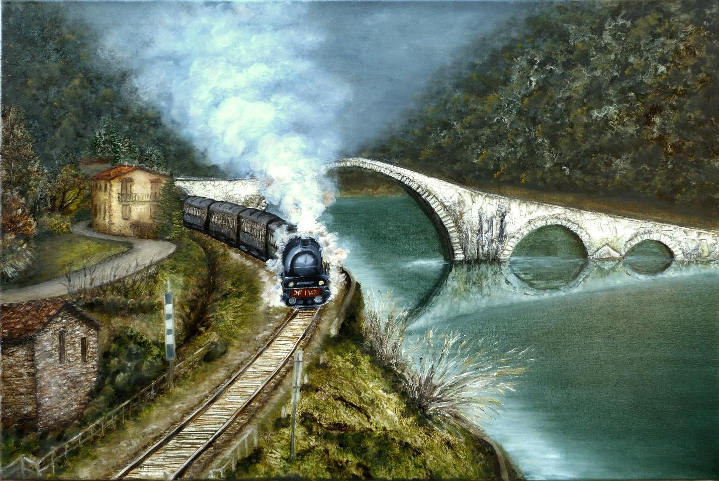 tren a vapore