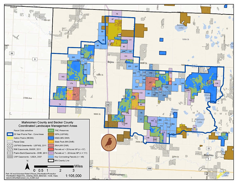 LPF - Minnesota Prairie Plan Map - Mahno