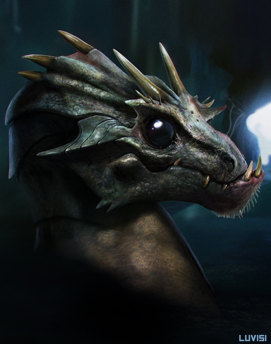 """It is indeed true that the dragons of Dávanor enter training -- and actual combat -- quite early. For millennia, early combat viability was bred into Dávanor's dragons by Davanórian warlords. The practice was further refined -- and perfected -- by the Dallanar after the Founding, when the Great Sister Aaryn took Dávanor as her royal seat. While the pre-Founding history is mostly lost to us, we do know that the early Davanórians were obsessed with martial prowess, military theory, and combat efficiencies. They knew that a dragon which takes a year (or more) to become combat viable represented a strategic weakness. Over thousands of years, they addressed this concern as all breeding programs do: The earliest viable foals were selected, pushed hard, and trained early. Those that were weak were trained for other purposes. Even so, top efficiencies for combat readiness still hovered around five to six months, and that was only for the very best Davanórian bloodlines -- royal bloodlines. When the Dallanar arrived on Dávanor they immediately recognized the tactical value of Dávanor's dragons and focused a wide range of new scholarship and science on the problem. Katherine II (FY 173-191; the so-called """"Scholar Queen"""") made major advances via diet and chemical stimulation. Her work resulted in the formula for an elixir that fundamentally revolutionized the issue and pushed viable combat age down below one month. (Of course, this has nothing to do with training -- I'm talking only about the physical ability to enter combat; training still takes time.) During the Restoration, under the so-called """"Avenging Monarchs"""" (especially Michael I, """"The Peacemaker"""") the present day standards were established. Thanks for asking me about this, Julie. I'll continue my research and see if I can discover more. Art: """"Baby Dragon"""" -- by the incredible Dan LuVisi. © 2014 Dan LuVusi"""