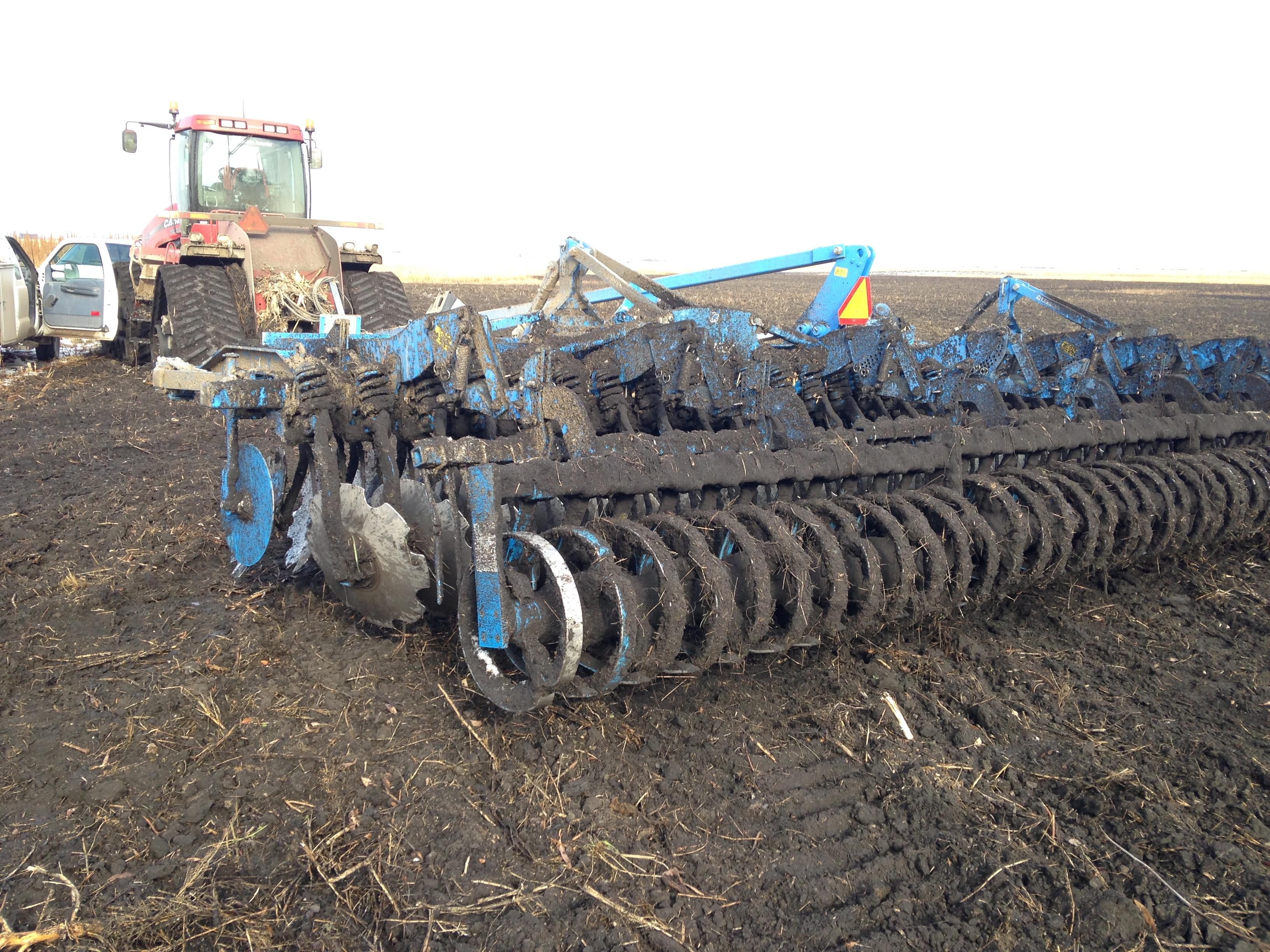 LPF Site 2 - Mahnomen Seed Bed Preparation, Fall 2014 (5).JPG