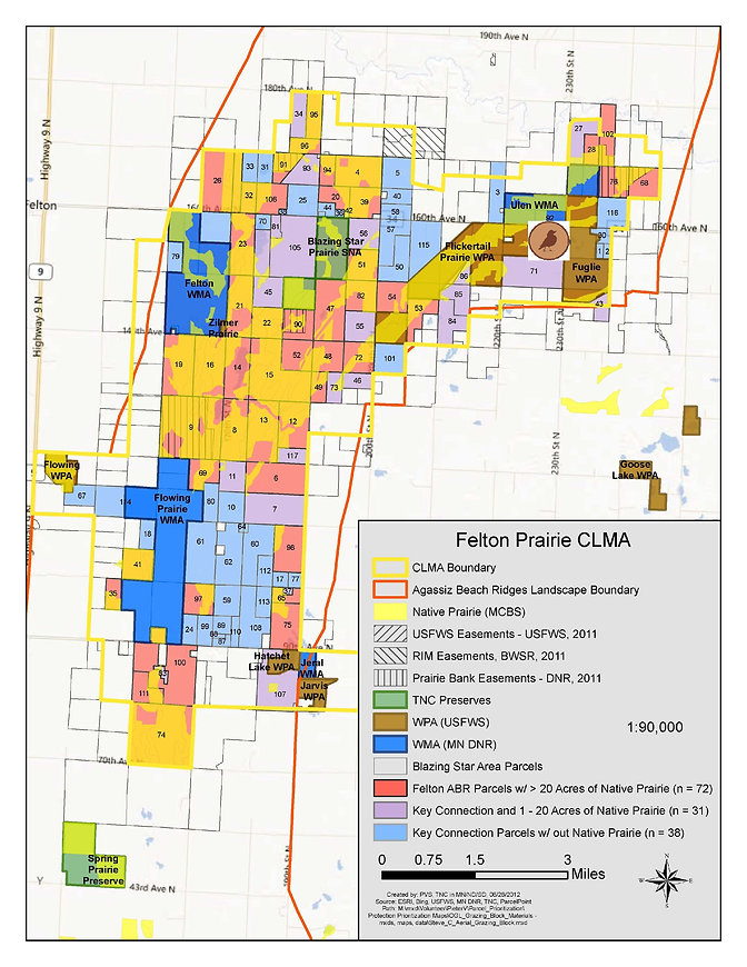 LPF - Minnesota Prairie Plan Map - Felto