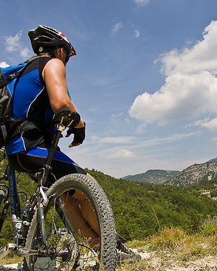 velo, vtt, sport, activite, parcours, residence***, camping***, fontaine annibal, buis, baronnie, drome, provence
