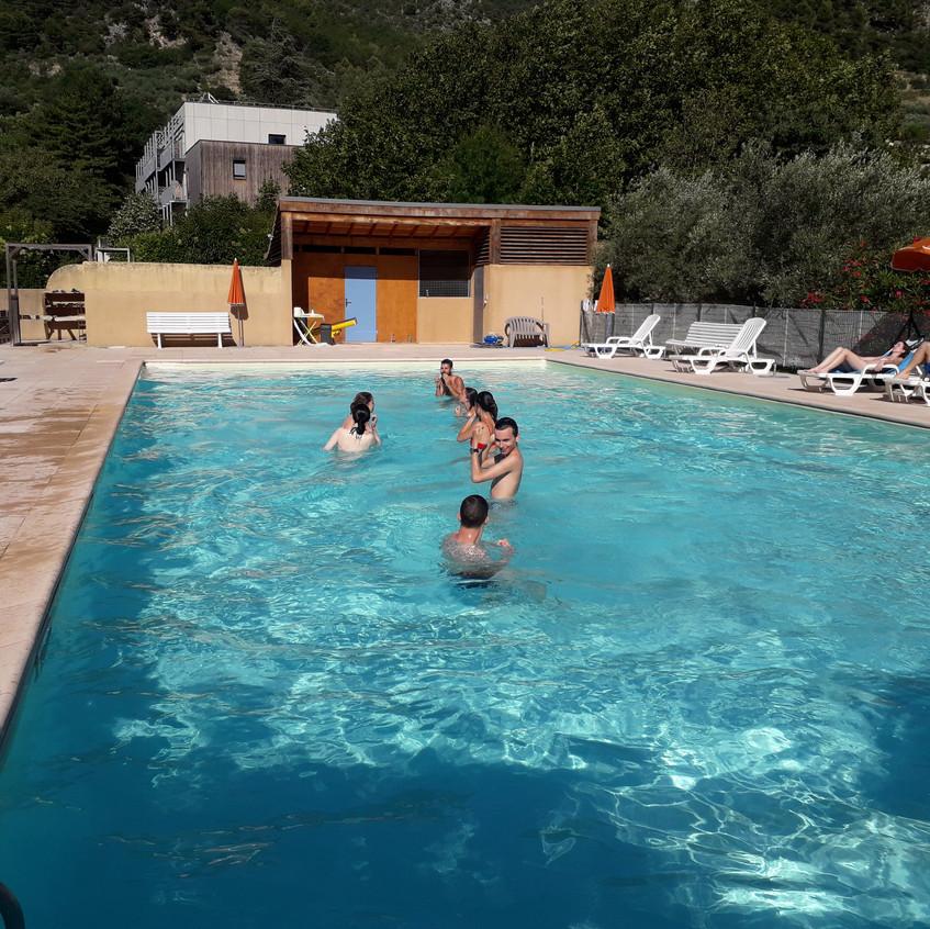 Test de la piscine