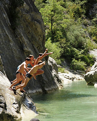 baignade, piscine, riviere, natation, baronnies, buis, drome, provence, residence***, camping***, la fontaine d'annibal