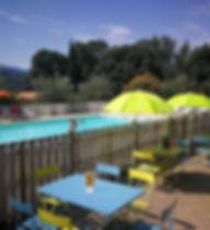 piscine du camping*** La fontaine d'annibal (Buis les Baronnies)
