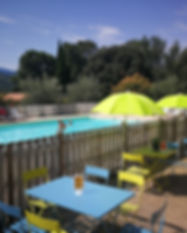 piscine, camping***, la fontaine d'annibal, Buis les Baronnies, Provence, mobil home, camping car, chalet