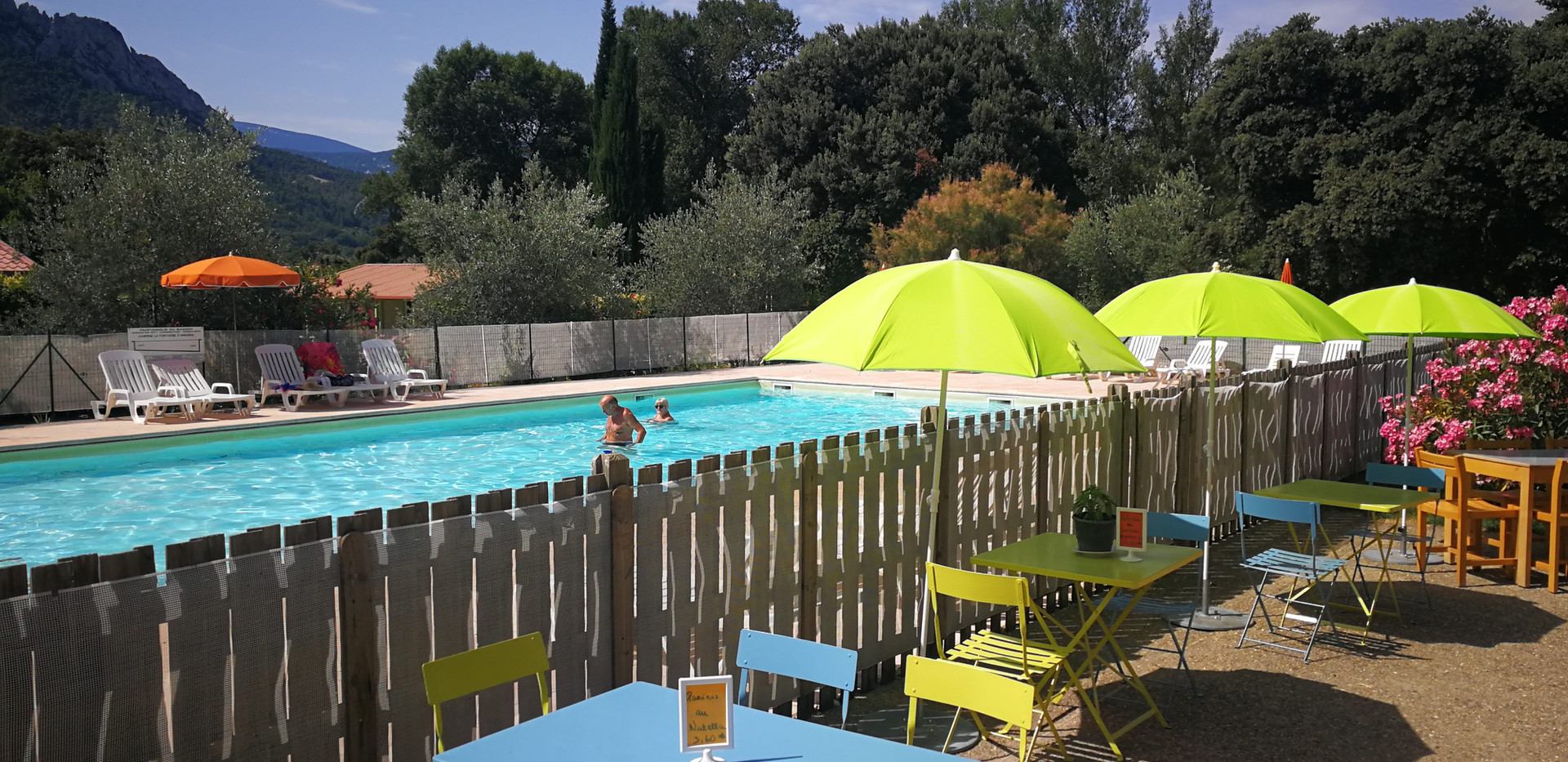 piscine camping*** baronnies